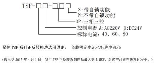 动控制或自锁控制正反转运动方式的交流电机,并可与适当的热过载继电
